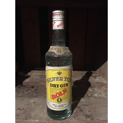 Silver Top Dry Gin 80s