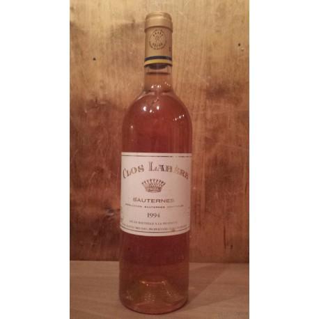 Sauterne Clos Labère 1994 (Domaine Baron de Rothschild)