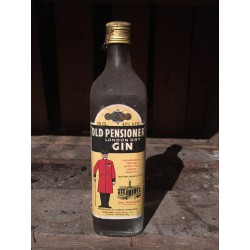 London Dry Gin Old Pensioner 60s - 70s